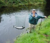 Salmon fishing, River Girvan